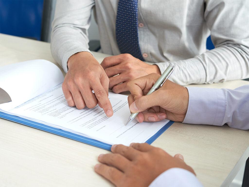 Firma de documentación